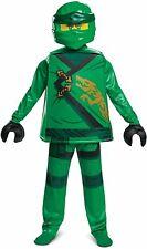 Lloyd Costume for Kids, Deluxe Lego Ninjago Legacy Themed Children's Character