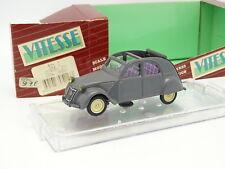 Vitesse 1/43 - Citroen 2CV 1954 Open grise