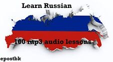 Learn Russian 100 Lessons Audio Book MP3 CD iPod Friendly Russian Language disc