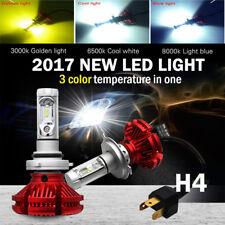 H4 9003 HB2 100W 12000LM LED Headlight Kit Hi/Lo Beam Bulbs 3000K /6500K/8000K