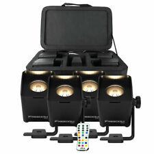 CHAUVET DJ Freedom Q1N TRUE Wireless RGB+WW LED Spin Spot (4-Pack) New