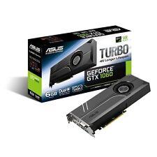 ASUS Geforce GTX 1060 6GB Turbo Edition VR  Graphics Card (TURBO-GTX1060-6G)