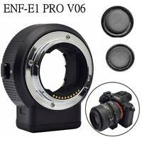Commlite CM-ENF-E1 PRO V06 Focus Lens Adapter for Nikon F Lens to Sony E-mount