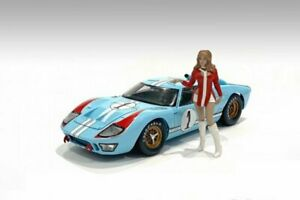 RACE DAY 2 FIGURE V 1/24 scale Figurine AMERICAN DIORAMA 76399