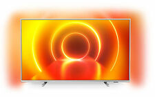 Philips PUS7855 65 Zoll 4K LED Smart TV - Mittelsilber