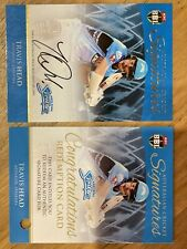 Travis Head Tap 'N' Play Australian Cricket Signatures Card Limited Edition