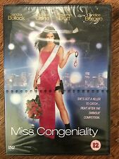 Sandra Bullock Michael Caine MISS CONGENIALITY | 2001 Camp Comedy | UK DVD