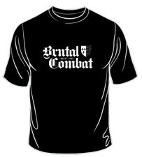 BRUTAL COMBAT-BREST T-SHIRT SKIN/WAY OF LIFE/Oi!Oi!Oi!/BOOTS&BRACES/SKINHEAD