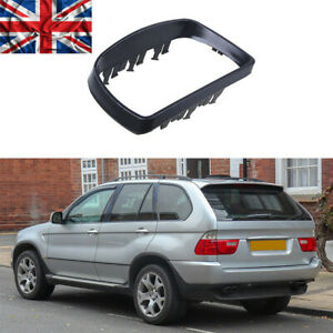 Left Passenger Side Rearview Wing Mirror Cover Casing For BMW E53 X5 1999-2006