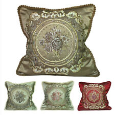 CURCYA Elegant Cushion Covers Case European Royal Sofa Throw Pillow Cover Gifts