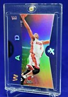 DWYANE WADE E-X ACETATE HOLO RAINBOW REFRACTOR SP MIAMI HEAT HALL OF FAME