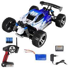 RC Speed Elektro Buggy V2 1:18 2.4G Pistolenfernbedienung 50 kmh LiPo RTR Blau
