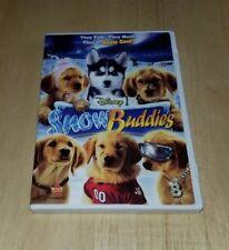 Walt Disney Snow Buddies Dvd Dog Lovers Dylan Sprouse Shasta Buddha Rosebud Dogs