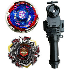 Beyblade BB-105 Metal Masters And BB-114 Metal Fusion POISON L-Drago+launcher Br