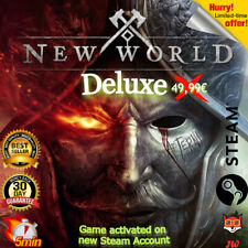 ? New World Deluxe | Steam | PC Spiel/ Game || No Key | Worldwide | GLOBAL  ?