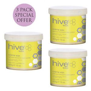 Hive Creme Wax 3 x 425g Hair Removal