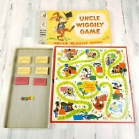 Uncle Wiggily Vintage Board Game 1961 Milton Bradley 4817 USA