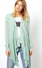Ladies/women's YOURSTYLE Waterfall Cardigan Mint Size 12