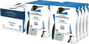 Printer Paper 20 Lb Copy Paper 8.5 x 11 4,000 Sheets 92 Bright 8 Ream NEW