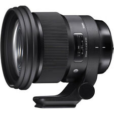 Sigma 105mm F/1.4 DG HSM Art Lens (Nikon) Full Frame 4 Year USA Warranty NEW