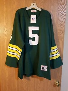 Paul Hornung #5 Green Bay Packers Mitchell & Ness Throwbacks Jersey Size 54 NWT
