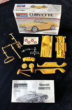 VINTAGE 1/32 MONOGRAM 1960 CORVETTE Model 6075 (1967 Copyright Instructions)