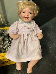 Künstlerpuppe Porzellan Puppe 52 cm. Limitierte Auflage. Top Zustand