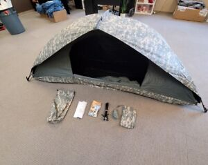 US Army Military Tent Universal Improved Combat Shelter Digital ACU