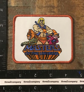 Vintage He-Man Masters Of The Universe Iron-On Patch MOTU Orko Battle Cat