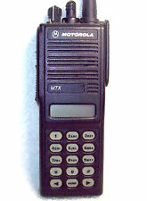 Motorola MTX8000 800 MHz Model III Portable H01UCH6DB7AN Trunking & Conventional