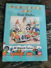 1st Edition Noddy Book 16 You're A Good Friend, Noddy! Enid Blyton HCDJ Beek B30