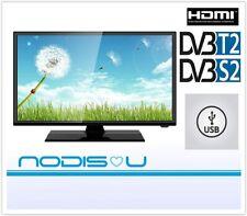 "NODIS TV 24"" 24 POLLICI ND-24T2S2 HD LED HDMI USB DVB-T2 DVB-S2 CI+ TELEVISORE"