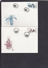 Slovakia 2014 Motorcycles First Day Cover FDC Slovakia special pmk