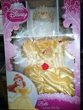 disney princess belle costume gift set