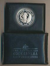 Australia: 1990 $5 1oz Silver Kookaburra 1st Proof in Original Mint Pkg