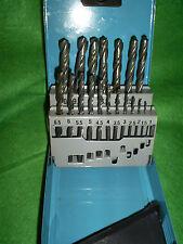 Black and Decker Calidad 19 Pieza Hss Drill Bit Set en una lata de metal 1-10 mm