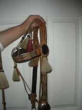 Prison made horsehair hitched bridle with