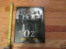 Oz Behind these Walls the journal Augustus Hill HC Book