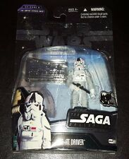 STAR WARS AT-AT DRIVER UGH SAGA COLLECTION #09 ACTION FIGURE NEW + HOLO FIGURE