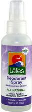 Deodorant Spray with Lavender, Lafes Natural Body Care, 4 oz
