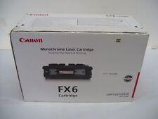 CANON FX6 FX-6 GENUINE BLACK TONER CARTRIDGE L1000 L3170 L3175 1559A002AA