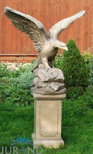 Sockel Stein für Figuren Skulpturen Statuen XXL Garten Dekoration Säule 7504