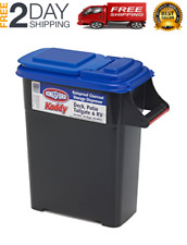 Polished Black Container Kingsford Kadddy Charcoal Dispenser For 24 Lb. Bags