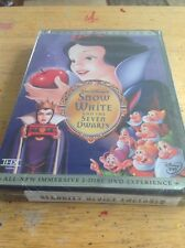 Snow White and the Seven Dwarfs (DVD,2001,2-Disc)NEW Authentic Disney RARE