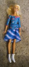Barbie Made to Move NUDE Doll Jointed Articulated Pivotal Straight Blonde htf