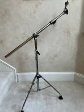 Vintage 70s 80s Hercules Ludwig B/O Telescoping Weighted Boom Cymbal Stand