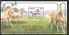 VANUATU SGMS876 2002 LOCAL HORSES  MNH