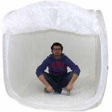DynaSun PB1 150cm Cube Boite Lumière Softbox Diffuseur Tente Cabine avec 4x Fond