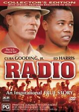Radio (DVD, 2004) Cuba Gooding Jr. Ed Harris