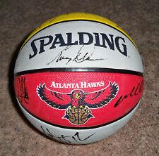 ATLANTA HAWKS Team Signed Autographed NBA Basketball COA! PROOF